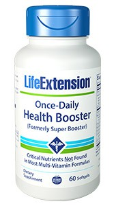 Once Daily Health Booster mit Vitamin E, K1, K2, B12 etc. Image