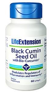 Black Cumin Seed Oil mit Curcumin 60 Kapseln Image