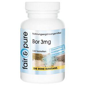 Bor 3mg Boron Natriumtetraborat 120 Tabletten Image