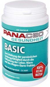 Panaceo Basic Detox 180 Kapseln Image