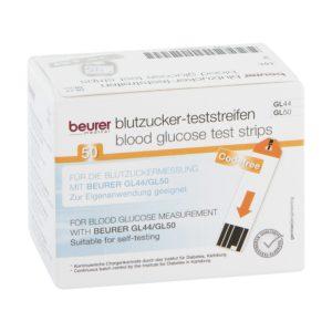 Teststreifen 50 St. für Blutzuckermessgerät Beurer GL 50 Image