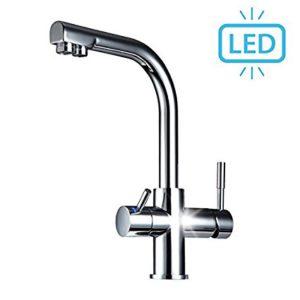 3 Wege Wasserhahn Puro mit LED für Wasserfilter und Osmoseanlagen Image