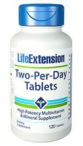 Two Per Day, Life Extension, 2x 120 Tabletten Image