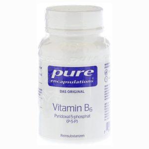 Vitamin B6, P5P 180 Kapseln Image