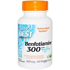 Benfotiamin, 300 mg, 60 Veggiekapseln Image