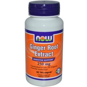 Ingwerwurzel-Extrakt, 250 mg, 90 vegetarische Kapseln Image