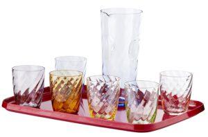 YVE-BIO® Art-Deco Trinkglas-Set Venecia Image