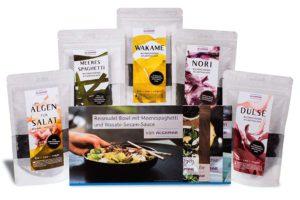 Algen Starter-Box mit Dulse, Nori, Meeresspaghetti, Wakame, Algen für Salate Image
