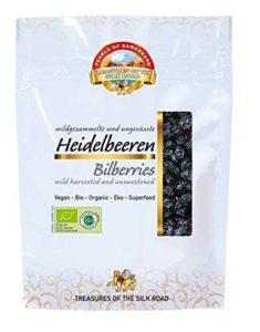 Wilde Heidelbeeren getrocknet, Bio 7 x 100g Image