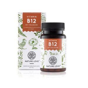 Vitamin B12, 180 Tabletten, Adenosyl- & Methylcobalamin + 5-MTHF Image