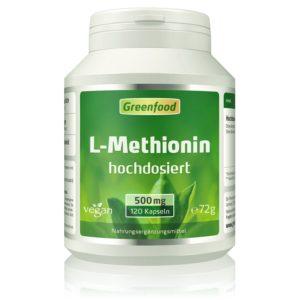 L-Methionin, 500 mg, 120 Kapseln Image