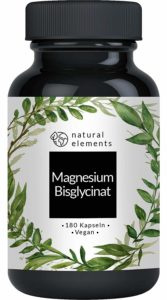 Magnesiumbisglycinat (Magnesium-Chelat) - 180 Kapseln Image