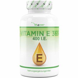 Natürliches Vitamin E aus Sonneblumen, 365 Kapseln Image