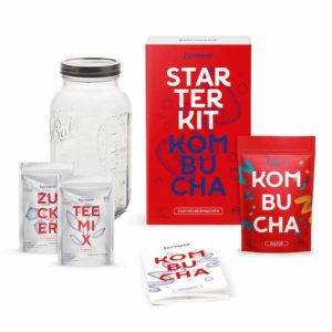 Fairment Starterkit Kombucha mit Kombucha-Teepilz und Zubehör Image