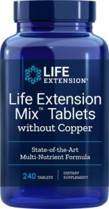 Life Extension Mix - Multivitamintabletten (ohne Kupfer) Image