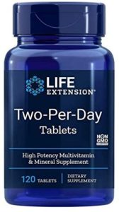 Two Per Day, Life Extension, 120 Tabletten Image